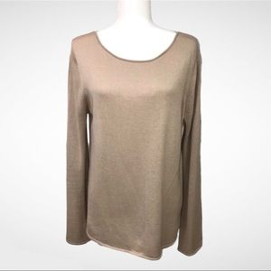 Central Park West Long Sleeve Sweater Size XL